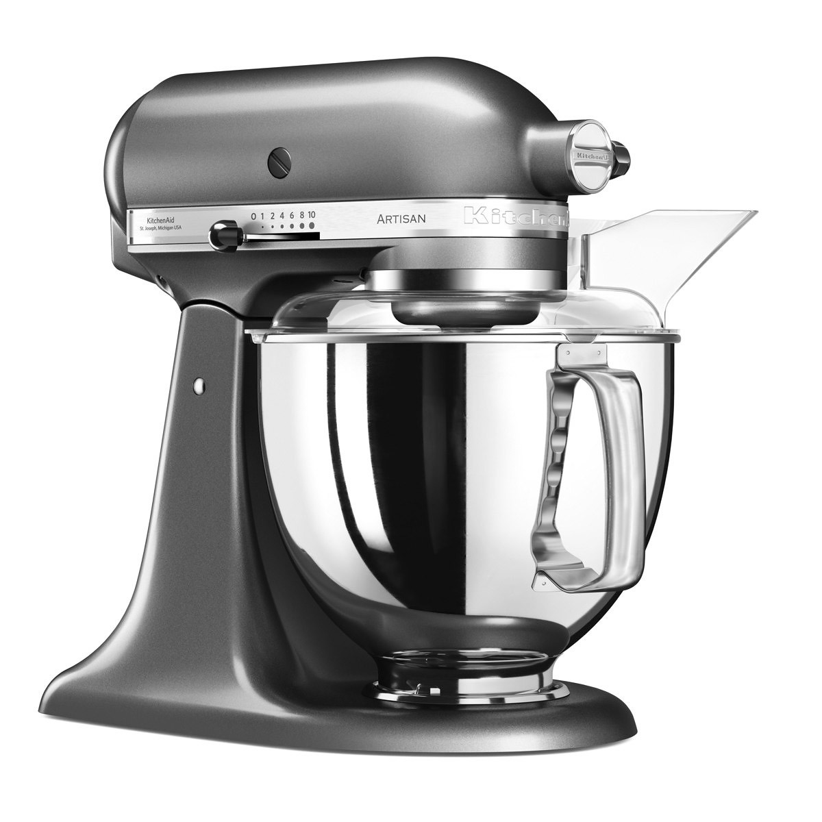 KitchenAid Artisan Elegance standmixer 4,8 liter Tingrijs