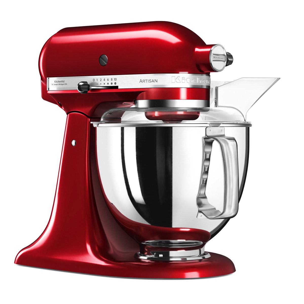KitchenAid Artisan Elegance standmixer 4,8 liter Appelrood
