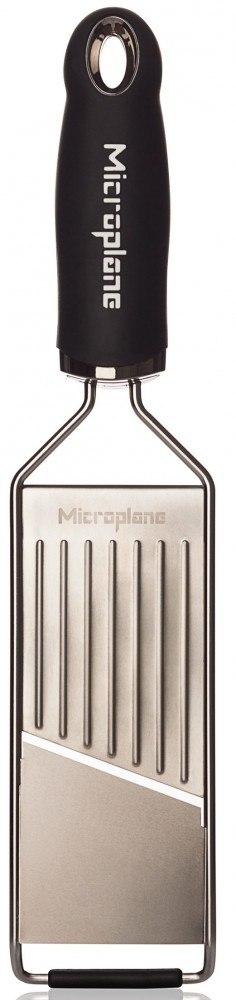 Microplane Gourmet Slicer - schaaf 32 cm rvs zwart